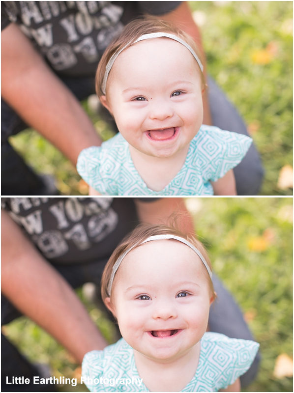 beautiful down syndrome baby