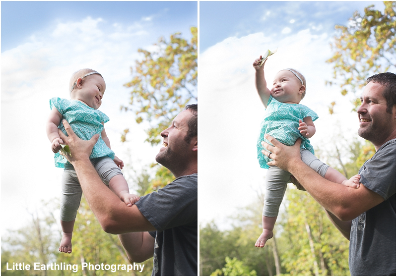 daddy and baby with down syndrome