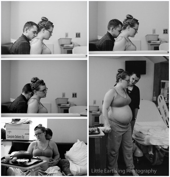 Stunning birth images of a 25 week preemie by Little Earthling Photography of Bellingham, WA.