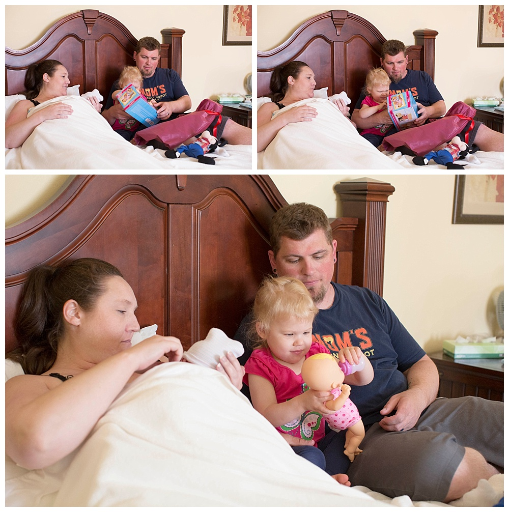 Mt Vernon Birth Photographer, Renee Bergeron, captures Alilish's beautiful birth center birth.