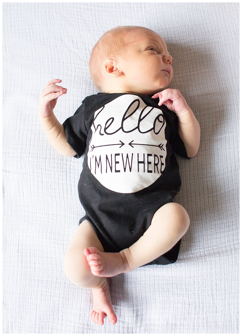 Lifestyle newborn photos by Bellingham newborn photographer Renee Bergeron of Little Earthling Photography.