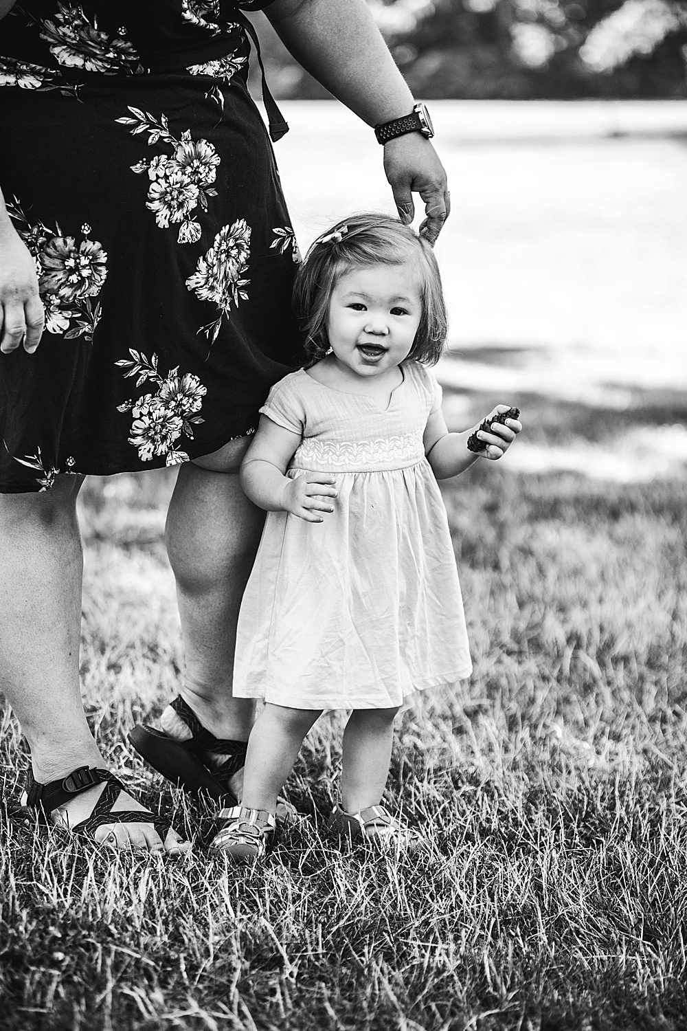 Umi's milestone photos by Renee Bergeron of LIttle Earthing  Photography.