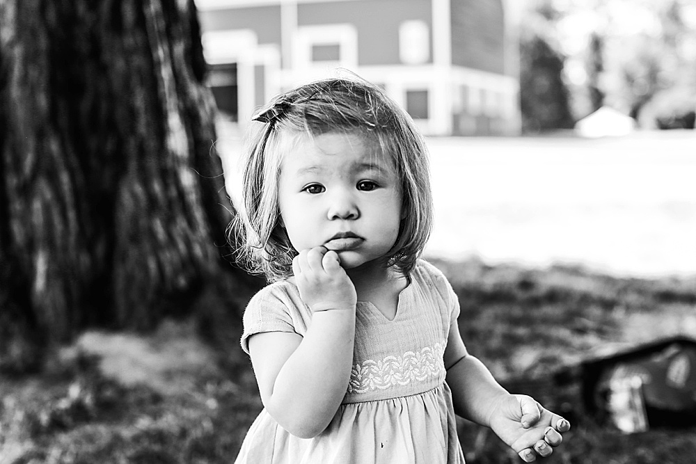 Umi at her one year milestone session.