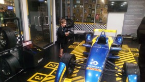 Renault garage at Kidzania