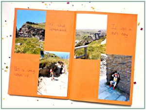 Photo Souvenirs - Scrap Book Pages