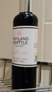 Heyland and Whittle Shower gel.