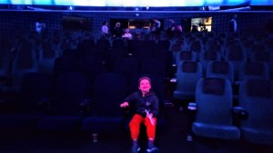 Noah in the Planetarium