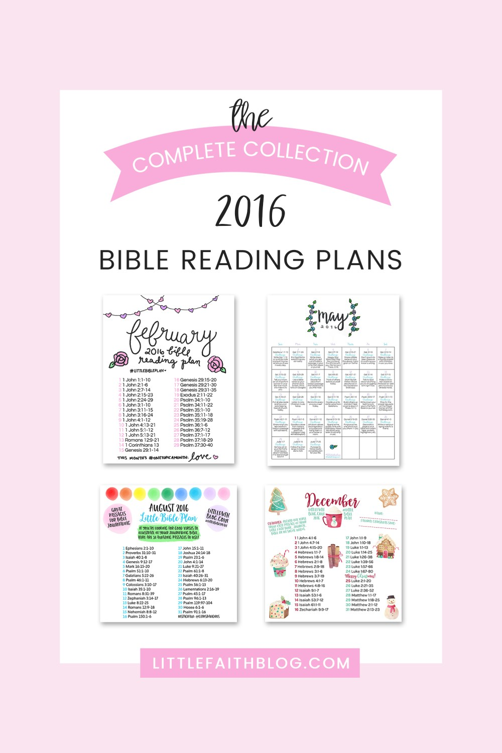 The Complete Collection: 2016 Bible Reading Plans
