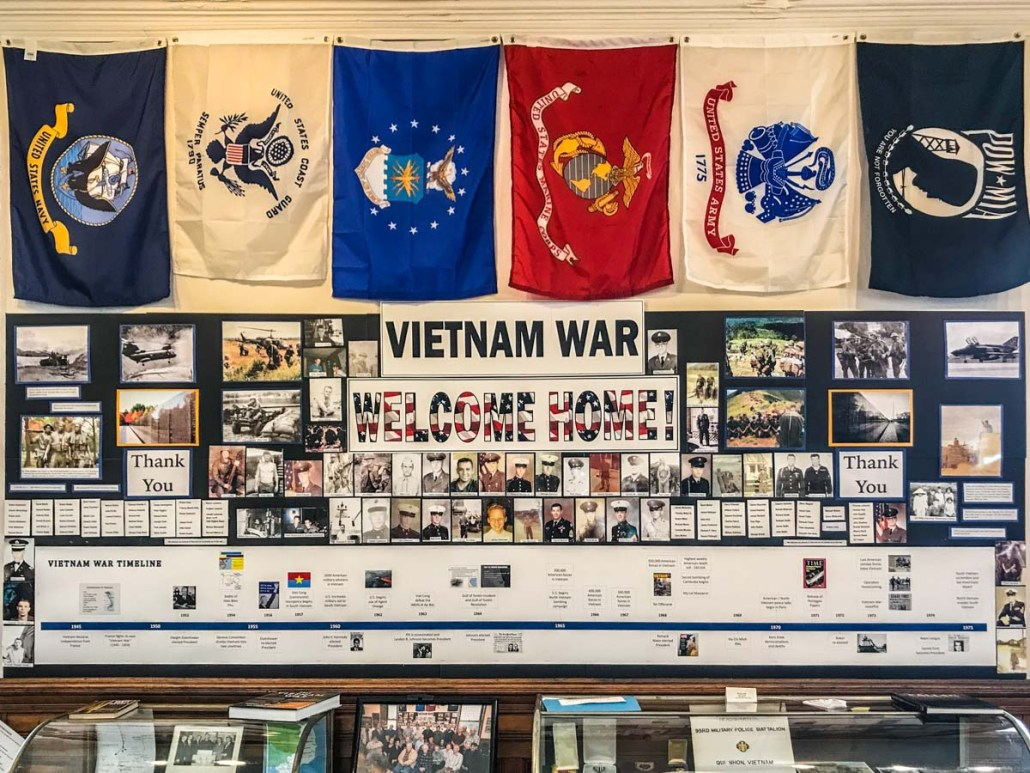 Vietnam War Exhibit |Little Falls Historical Society Museum | Little Falls NY