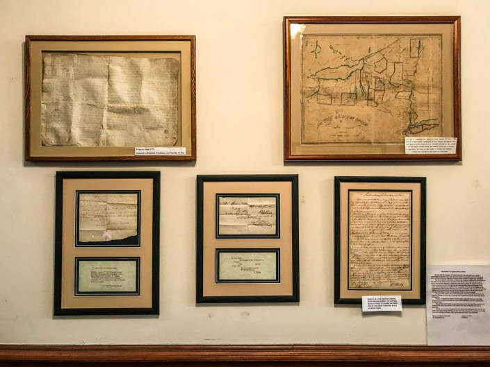 Documents from the 1700s | Little Falls Historical Society Museum | Little Falls NY