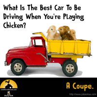 What Is The Best Kind Of Car To Be Driving When You're Ready To Play Chicken? A Coupe.