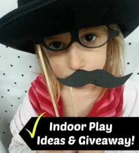 Indoor Play Ideas & Giveaway