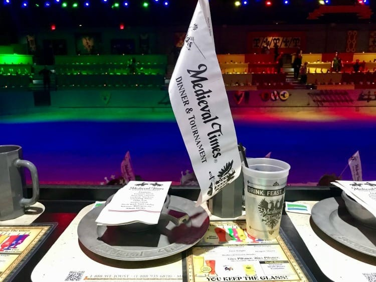 Medieval Times in Dallas, TX is a fun date night for the entire family.