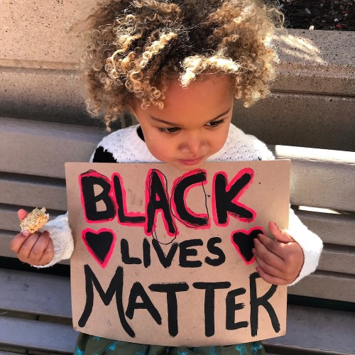 black lives matter how to photo with kids