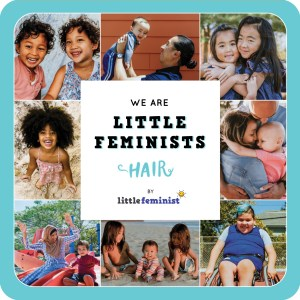 Little Feminist HAIR board book cover