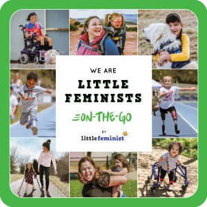 Little Feminist ON-THE-GO board book cover
