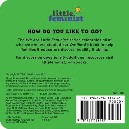 Little Feminist On-the-Go back cover