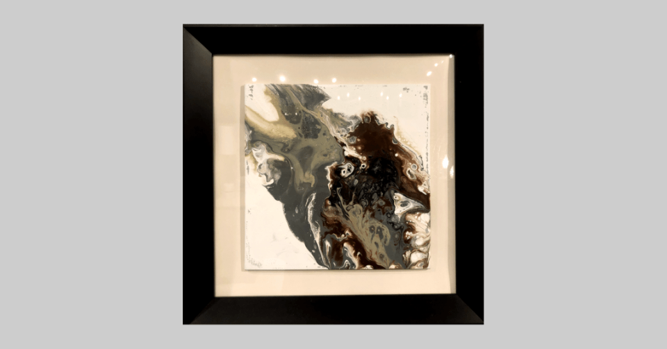 framed marble abstract 2