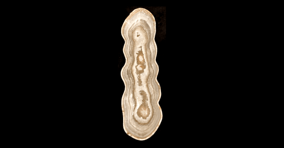 canoe grey taupe onyx bowl vertical view