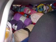 delivering blankets