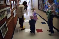 reefie walking at school