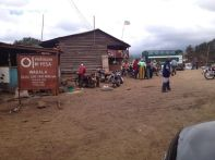 Town of Tarakea - pitstop on the way to Rongai Gate