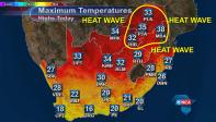 SA Heatwave Mon 5 October