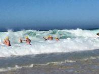 Swim for hope - really rough start