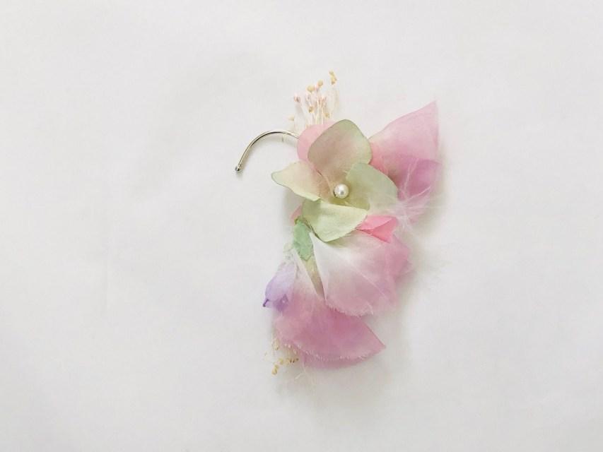 紫陽花 イヤーフック