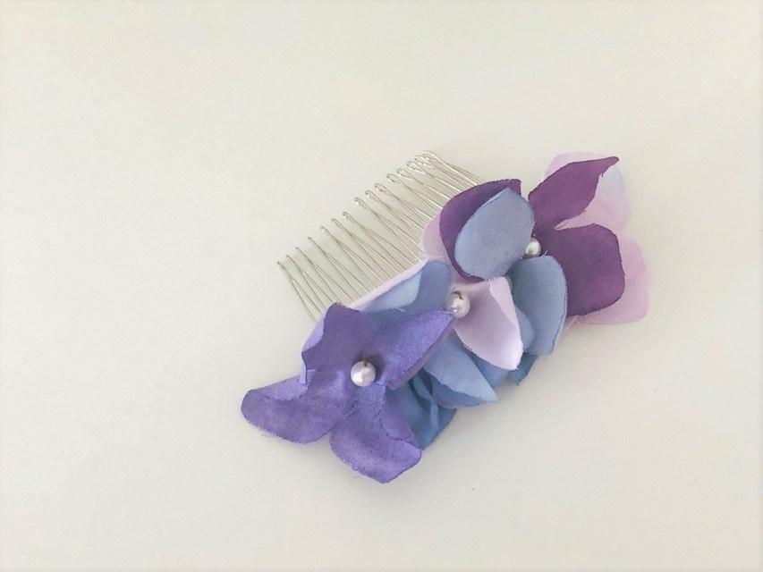 紫陽花 ヘアコーム