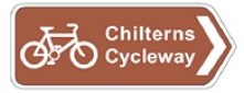 Chilterns Cycleway sign