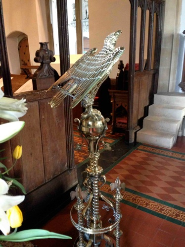 Photo of lectern