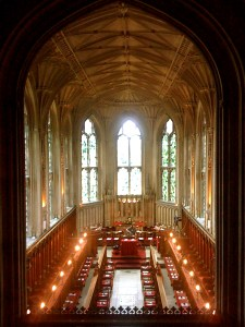 Evensong at Ashridge Chapel @ Ashridge Chapel