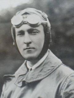 Photo of Geoffrey Talbot in flying gear