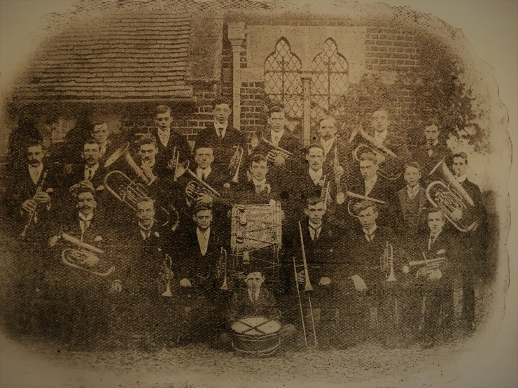 Photo of Little Gaddesden Brass Band 1902-1903
