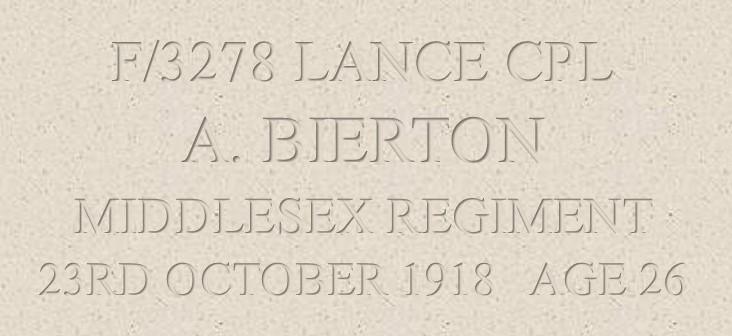 Albert Bierton Header