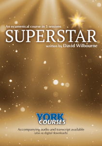 Photo of cover of Superstar booklet