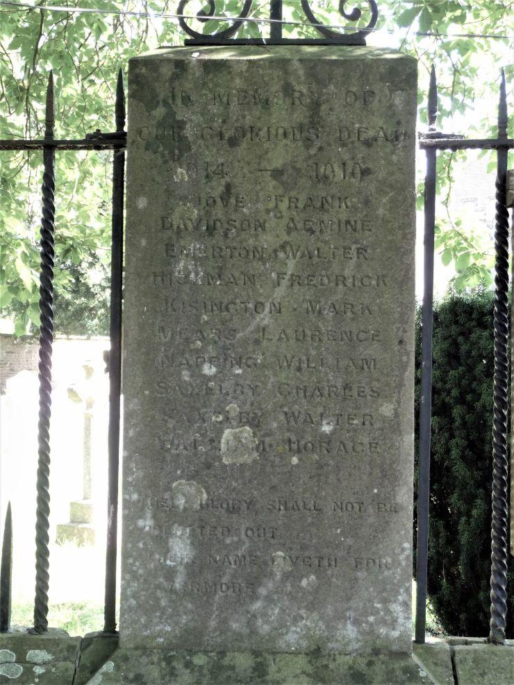 Photo of the Belton, Grantham War Memorial