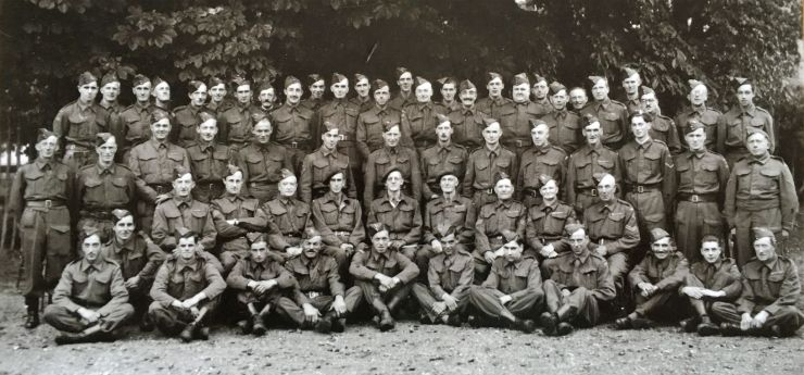 Photo of the Home Guard taken in 1942