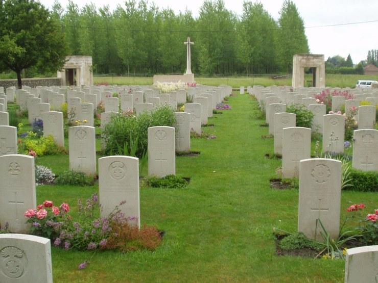 Photo of St-Vaast Post Military Cemetery