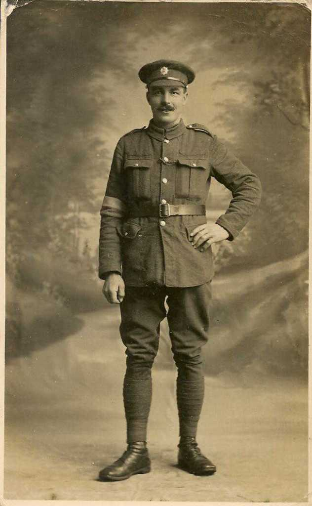Photo of Jim Hing in uniform
