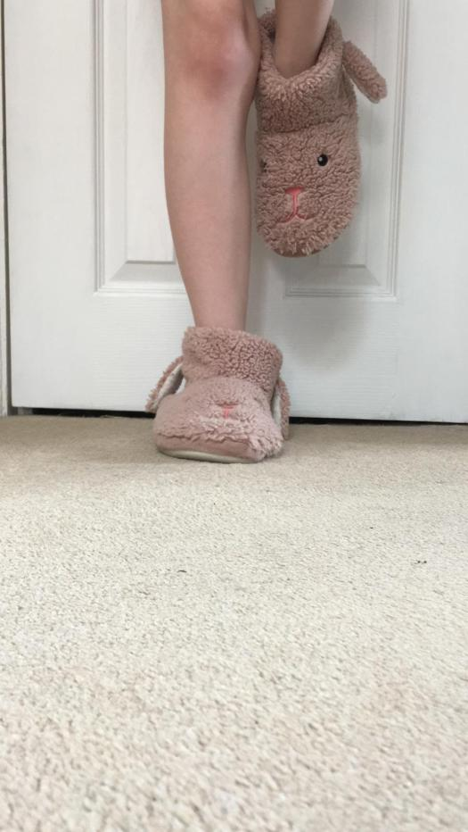 Photo: standing on one foot