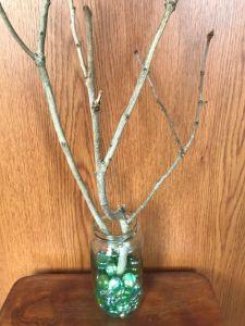 Photo of twig tree in jar