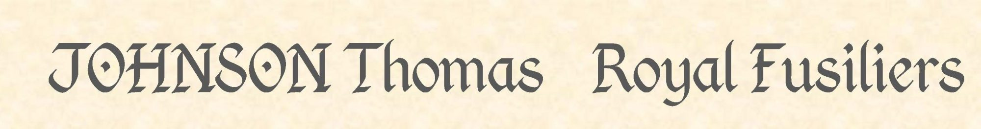 Thomas Johnson header
