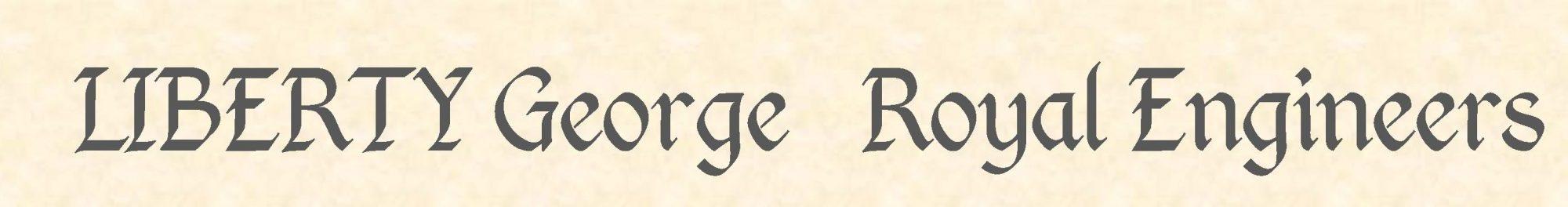 George Liberty header