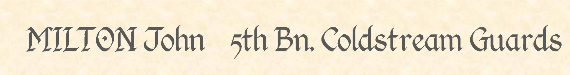 John Milton header