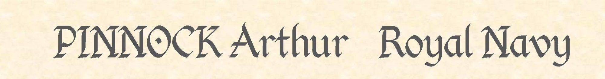 Arthur Pinnock header