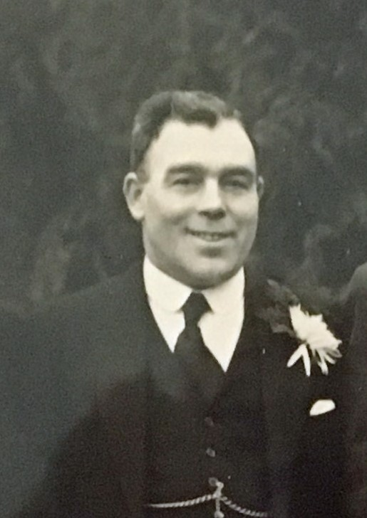 Photo of Jim Whitman, Best Man to Seth Janes 3rd Jan 1942