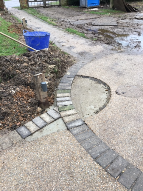 Photo of building works - Pathway Lights