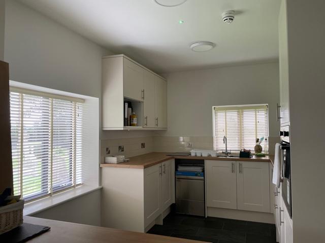 Photo of new kitchen